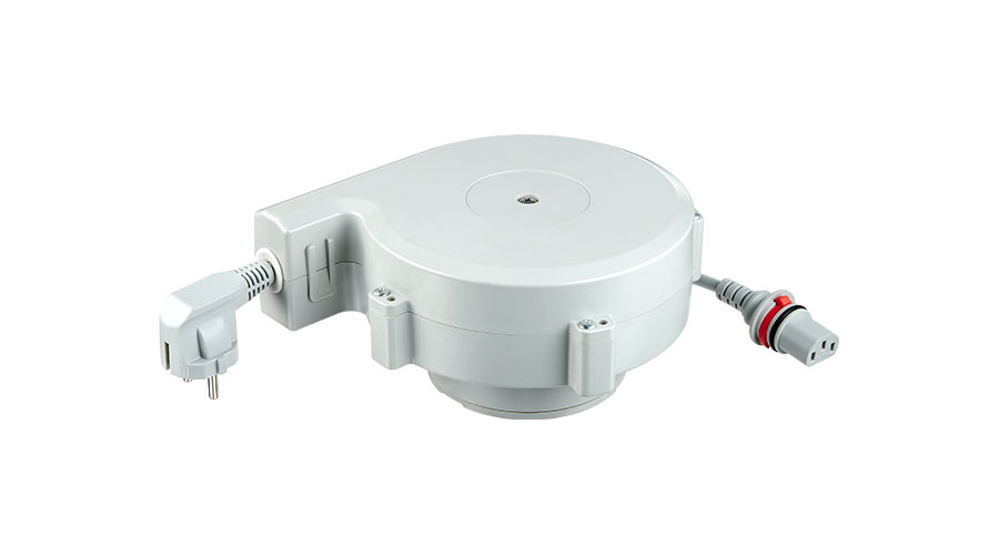 The TCR is a cable reel for cable management