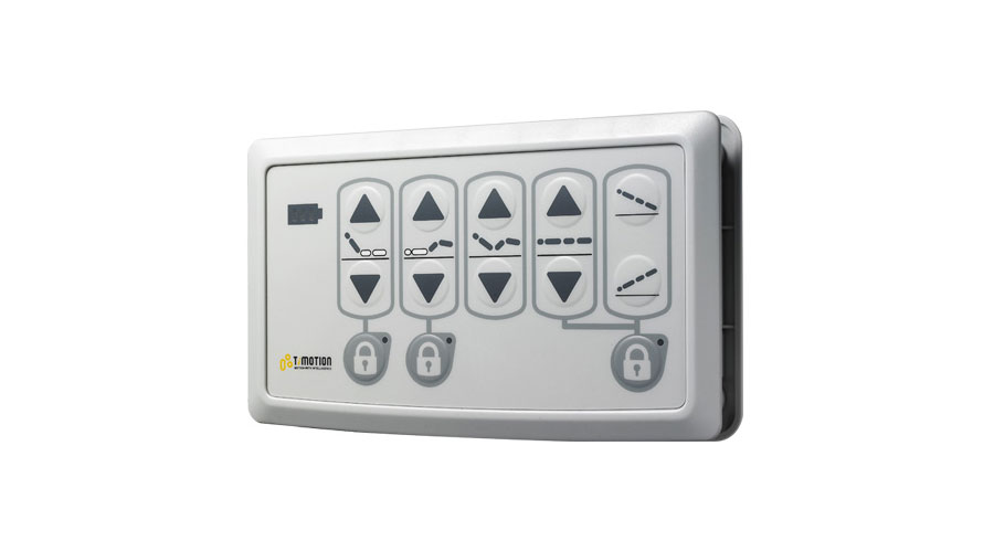 The TNP2 can control up to 7 channels in connection with TC8