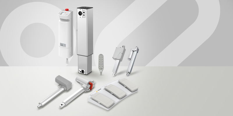 TiMOTION complete solution for medical equipment