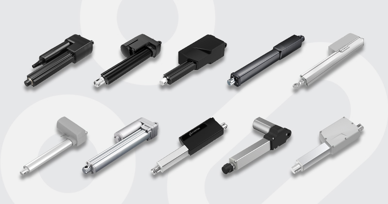 TiMOTION electric linear actuators